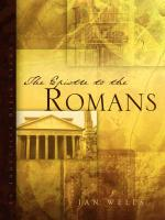 The Epistle to the Romans - Wells, Jan