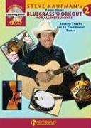 Steve Kaufman's Four-Hour Bluegrass Workout - Series Two: Book/4-CD Pack