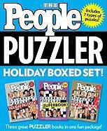 People Puzzler Holiday Boxed Set - People Magazine