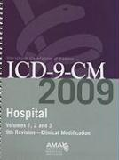 ICD-9-CM Hospital 2009, Vol. 1, 2 & 3: Full Size Spiral Edition - American Medical Association