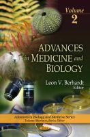 Advances in Medicine and Biology, Vol 2 - Berhardt, Leon V.