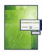 Intermediate Algebra 2nd Edition: Lessons - Espericueta, Rafael