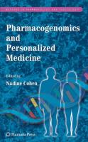 Pharmacogenomics and Personalized Medicine