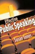 Speechmaking - Jones, Susan