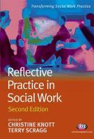 Reflective Practice in Social Work: Second Edition - Knott