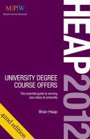 Heap 2012: University Degree Course Offers - Heap, Brian