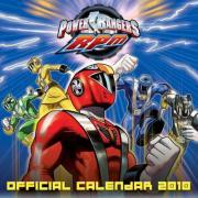 Official Power Rangers 2010 Calendar