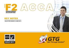 ACCA - F2 Management Accounting