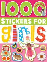 1000 Stickers for Girls - Scollen, Chris