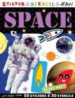 Sticker Stencil Draw Space - Scollen, Chris
