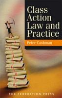 Class Action Law and Practice - Cashman, Peter; Cashman, P. K.
