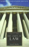 A Student's Guide to the Study of Law - Bradley, Gerard V.