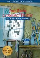 Just Right Crossword Puzzles: The Rainy Day Collection