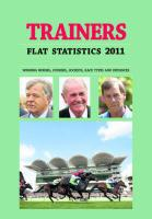Trainers Flat Statistics - Brown, Mark