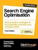 Search Engine Optimisation - Robinson, Phil; Annison, Lindsey; Chaffey, Dave