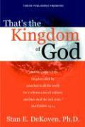 That's the Kingdom of God - Dekoven, Stan