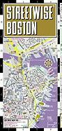 Streetwise Compact Boston Map: 20% Smaller Than Our Regular Boston Map