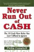 Never Run Out of Cash - Campbell, Philip