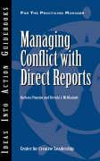 Managing Conflict with Direct Reports - Popejoy, Barbara; McManigle, Brenda J.