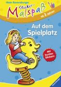 Mein Ravensburger Sticker-Malspaß: Auf dem Spielplatz