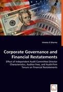 Corporate Governance and Financial Restatements - D Sharma, Vineeta