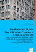 Fundamental Rights Protection for Corporate Entities in the EU - Kluczynska, Julia