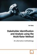 Stakeholder Identification and Analysis using theMulti-Rater Method - Kipley, Dan