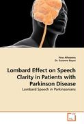 Lombard Effect on Speech Clarity in Patients with Parkinson Disease - Alfwaress, Firas