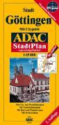 ADAC Stadtplan Stadt Göttingen 1 : 15 000. Spezialgefaltet.