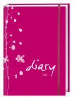 Diary Tageskalenderbuch pink A6. 2012