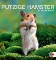 Putzige Hamster 2012. Postkartenkalender