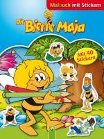 Die Biene Maja - Malbuch mit Stickern