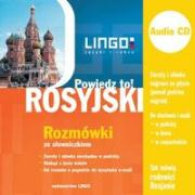 Rosyjski Rozmowki ze slowniczkiem + CD Powiedz to! - Zybert, Miroslaw