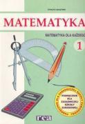 Matematyka dla kazdego 1 Podrecznik - Laczynska, Urszula