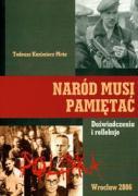 Narod musi pamietac - Mroz, Tadeusz Kazimierz