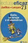 Gato, su bruja y el monstruo Juego Lectura