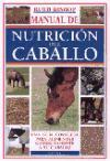 MANUAL DE NUTRICIÓN DEL CABALLO