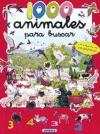 1000 Animales Para Buscar: Con Cientos de Pegatinas - Martin, Manuela