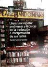 Literatura inglesa : problemas y técnicas en la traducción e interpretación de sus textos