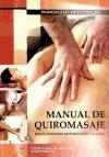 Manual de quiromasaje : para la formación profesional del masajista