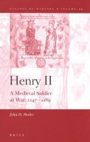 Henry II: A Medieval Soldier at War, 1147-1189 - Hosler, John D.