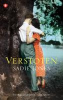 Verstoten / druk 4 - Jones, Sadie