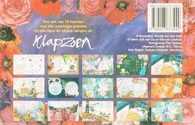 Klapzoen kaartenmapje / druk 1