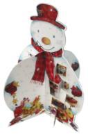 Sneeuwpop 3D adventkalender set 3 ex / druk 1