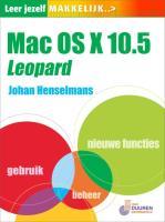 Leer Jezelf Makkelijk Mac OSX 10.5 Leopard / druk 1 - Henselmans, J.