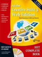 Het Complete Boek: Adobe Creative Suite 3 + CD-ROM / druk 1 - Kassenaar, P.; Duuren, B. van