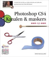 Adobe Photoshop CS4 Kanalen & maskers + DVD / druk 1 - MacClelland, Deke