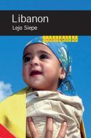 Landenreeks / Libanon / druk 1 - Siepe, L.