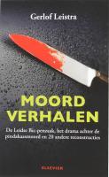 Moordverhalen / druk 1 - Leistra, G.