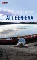 Alleen Eva / druk 1 - Ersson, S.